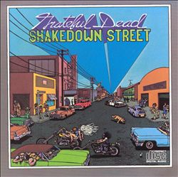 Grateful Dead - Shakedown Street CD (album) cover