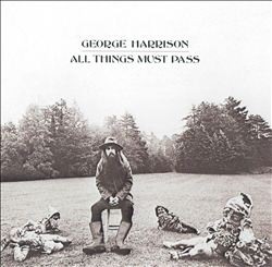 George Harrison - All Things Must Pass CD (album) cover