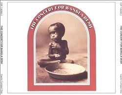 George Harrison - The Concert For Bangladesh CD (album) cover
