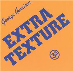 George Harrison - Extra Texture CD (album) cover