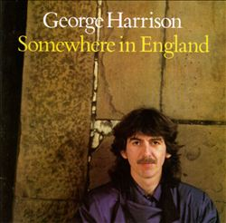 George Harrison - Somewhere In England CD (album) cover