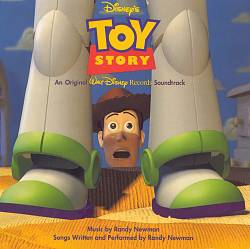 Randy Newman - Toy Story CD (album) cover