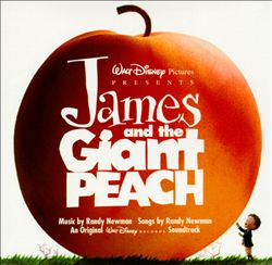 Randy Newman - James And The Giant Peach CD (album) cover