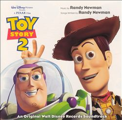 Randy Newman - Toy Story 2 CD (album) cover