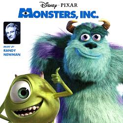 Randy Newman - Monsters, Inc. CD (album) cover