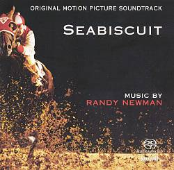 Randy Newman - Seabiscuit CD (album) cover