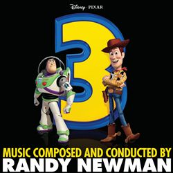 Randy Newman - Toy Story 3 CD (album) cover