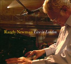 Randy Newman - Live In London CD (album) cover