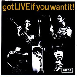 The Rolling Stones - Got Live If You Want It! [uk Ep] CD (album) cover