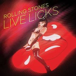 The Rolling Stones - Live Licks CD (album) cover