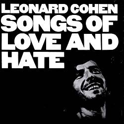 LEONARD COHEN - Songs Of Love And Hate CD album cover
