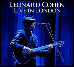 LEONARD COHEN - Live In London CD album cover