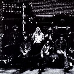 The Allman Brothers Band - At Fillmore East CD (album) cover