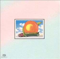 THE ALLMAN BROTHERS BAND - Eat A Peach CD album cover