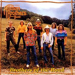 The Allman Brothers Band - Brothers Of The Road CD (album) cover