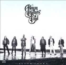 The Allman Brothers Band - Seven Turns CD (album) cover