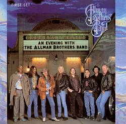 The Allman Brothers Band - An Evening With The Allman Brothers Band: First Set CD (album) cover