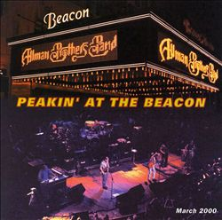 The Allman Brothers Band - Peakin' At The Beacon CD (album) cover