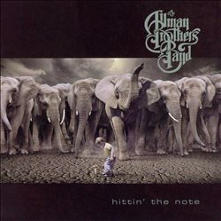The Allman Brothers Band - Hittin' The Note CD (album) cover