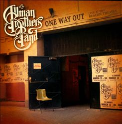 The Allman Brothers Band - One Way Out: Live At The Beacon Theatre CD (album) cover