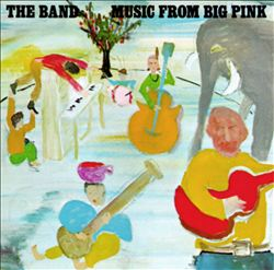 The Band - Music From Big Pink CD (album) cover