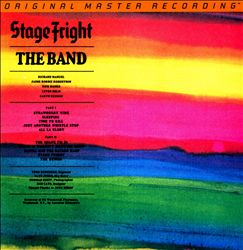 The Band - Stage Fright CD (album) cover