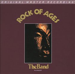 The Band - Rock Of Ages CD (album) cover