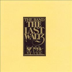 The Band - The Last Waltz CD (album) cover