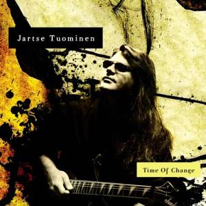 Jartse Tuominen - Time Of Change CD (album) cover