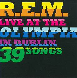 R.e.m. - Live At The Olympia CD (album) cover