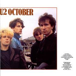 U2 - October CD (album) cover