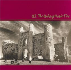 U2 - The Unforgettable Fire CD (album) cover