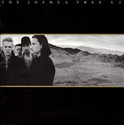 U2 - The Joshua Tree CD (album) cover