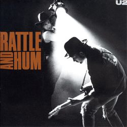 U2 - Rattle And Hum CD (album) cover