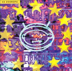 U2 - Zooropa CD (album) cover