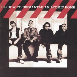 U2 - How To Dismantle An Atomic Bomb CD (album) cover