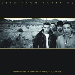 U2 - Live From Paris CD (album) cover