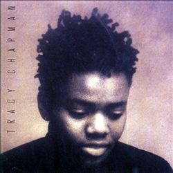 TRACY CHAPMAN - Tracy Chapman CD album cover