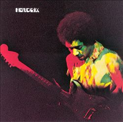 Jimi Hendrix - Band Of Gypsys CD (album) cover