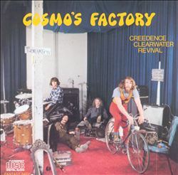 Creedence Clearwater Revival - Cosmo's Factory CD (album) cover