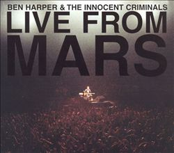 Ben Harper - Live From Mars CD (album) cover
