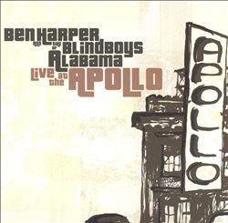 Ben Harper - Live At The Apollo CD (album) cover