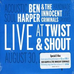 Ben Harper - Live At Twist And Shout Records CD (album) cover
