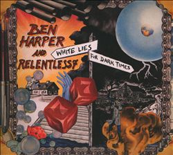 Ben Harper - White Lies For Dark Times CD (album) cover