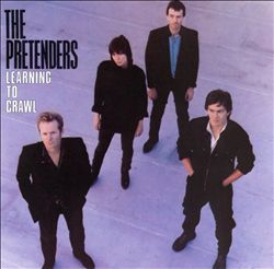 Pretenders - Learning To Crawl CD (album) cover