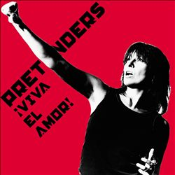 Pretenders - Viva El Amor! CD (album) cover