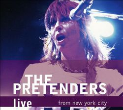 Pretenders - Live From New York City CD (album) cover