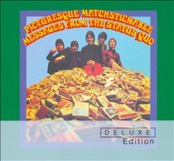 Status Quo - Picturesque Matchstickable Messages From The Status Quo CD (album) cover