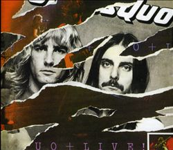 STATUS QUO - Live! CD album cover