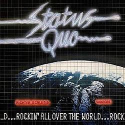 Status Quo - Rockin' All Over The World CD (album) cover
